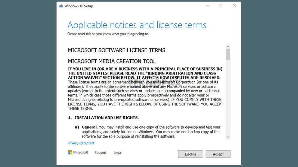cara update windows 10 dengan media creation tool
