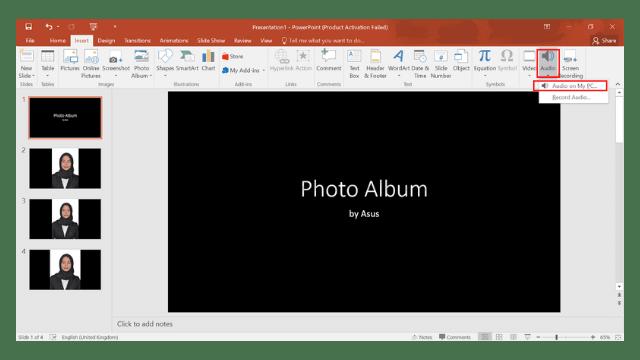 Cara Membuat Slide Show Foto