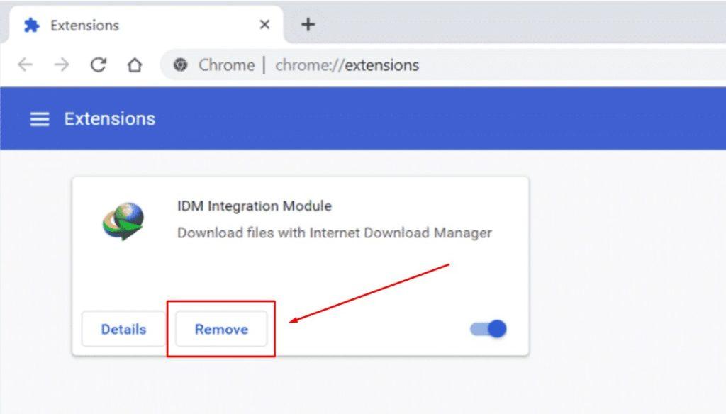 tombol download idm tidak muncul di chrome