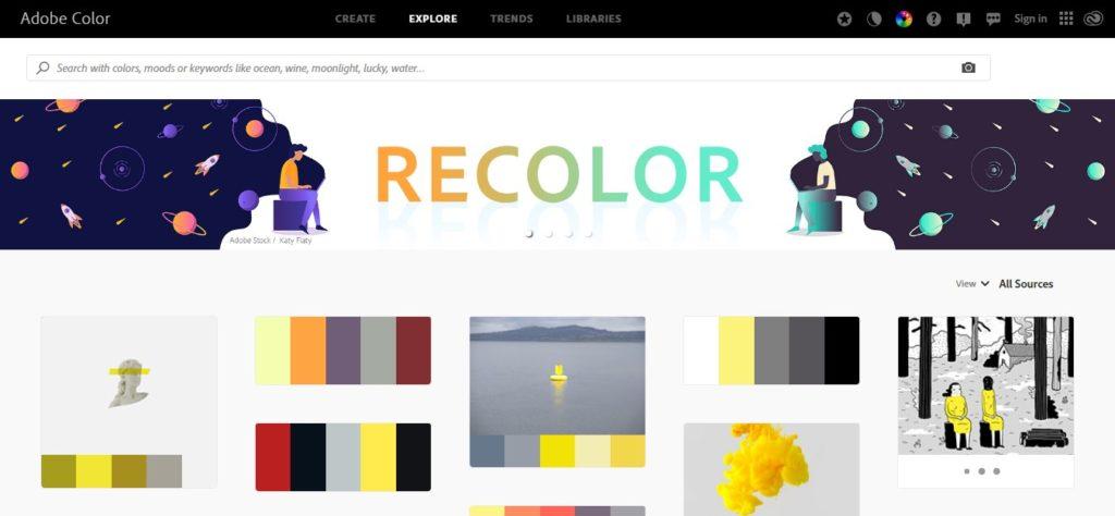 Situs Untuk Cari Kombinasi Warna