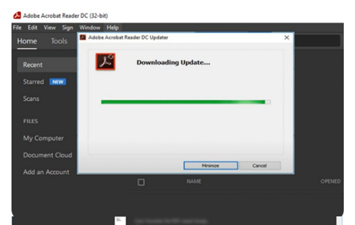 Cara Update Adobe Reader