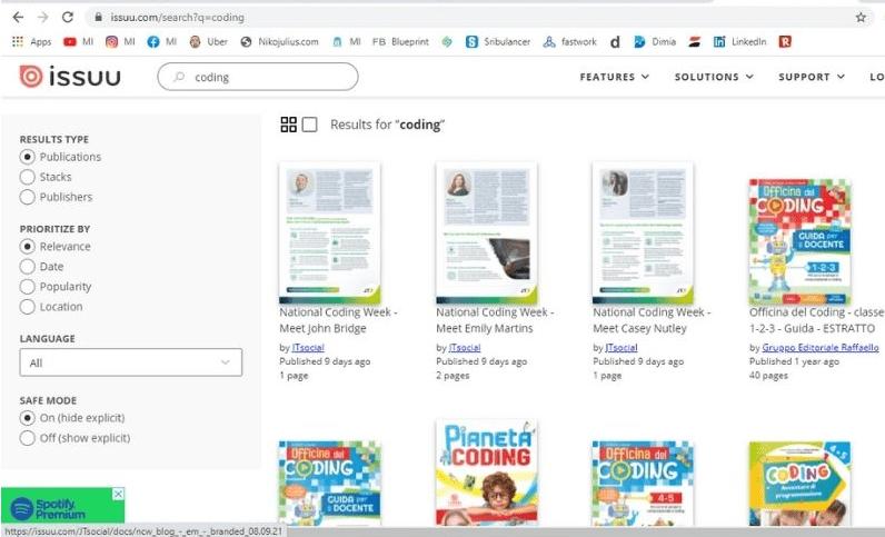 Cara Download Buku di issuu