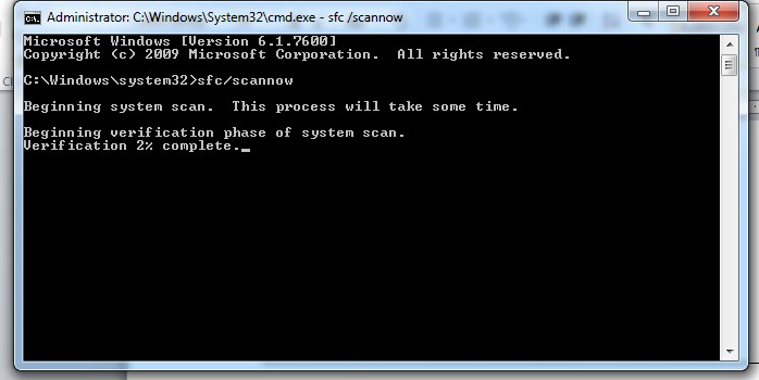 Cara Mengatasi Windows Explorer Has Stopped Working dengan periksa file