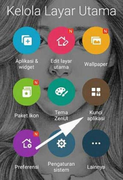 Cara Mengunci Aplikasi WA Untuk HP Merk ASUS Tanpa Aplikasi