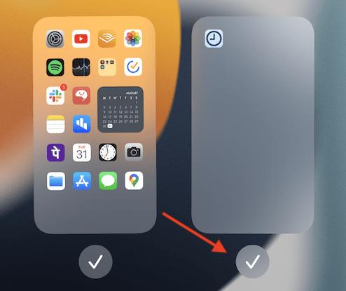 Cara menghapus Home screen page di iphone dan ipad