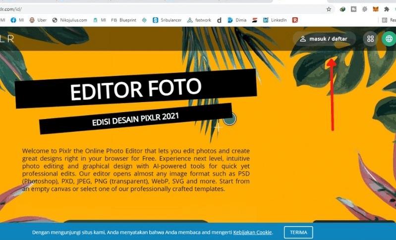 Cara Membuat Watermark Gambar di Aplikasi Pixlr