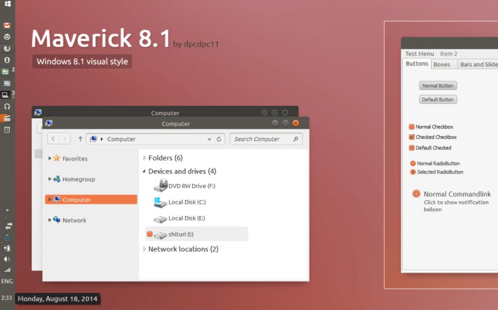 Tema windows keren maverick untuk windows 8
