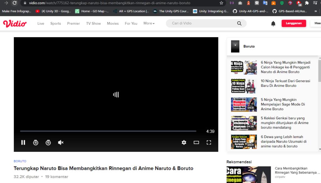Cara Download Video di Vidio Com Tanpa Aplikasi